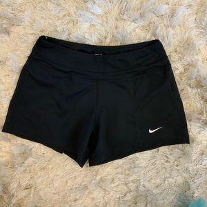 Black Nike Yoga Shorts